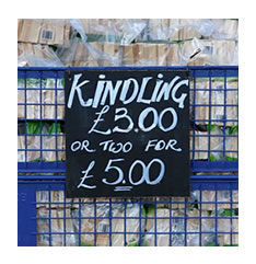 Kindling for sale Evesham