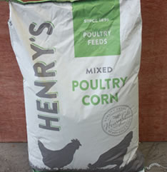 Animal Feed Henry's Mixed Corn for Sale evesham
