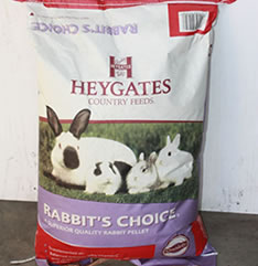Animal Feed Heygates Rabbit Pellets for Sale evesham