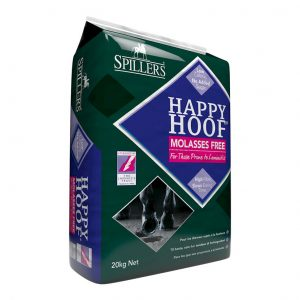 Spillers Happy Hoof Molasses Free 20kg for sale Evesham and online.