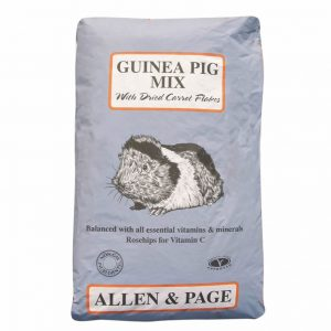 Allen & Page Smallholder Guinea Pig Mix 20kg for sale Evesham and online. We can deliver.