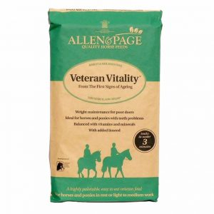 Allen & Page Veteran Vitality 20kg for sale Evesham and online. We can deliver.