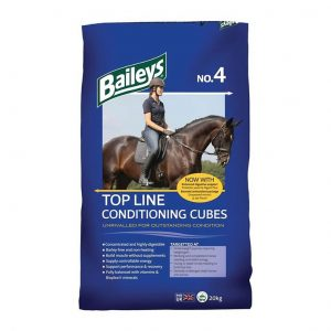 Baileys No 4 Top Line Cubes 20kg for sale Evesham and online. We can deliver.