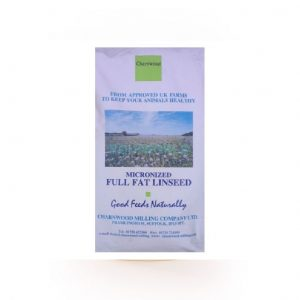 Charnwood Linseed 20kg for sale Evesham and online. We can deliver.