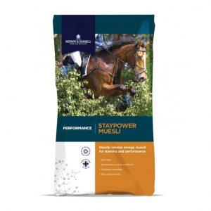 Dodson & Horrell Staypower Muesli 20kg for sale Evesham and online. We can deliver.