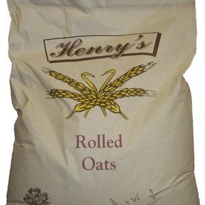 Henry's Rolled Oats 20kg for sale Evesham and online. We can deliver.