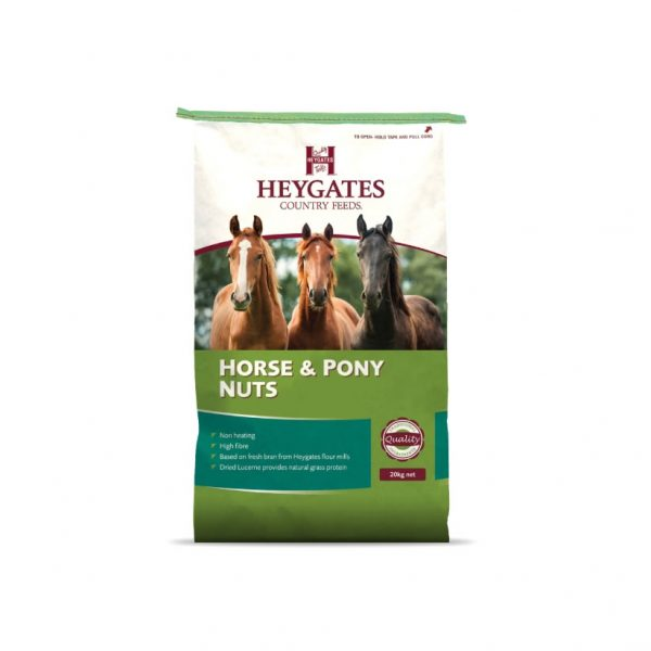 Heygates Horse and pony nuts 20kg for sale Evesham and online.