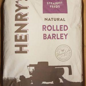 Henry's Rolled Barley 20kg for sale Evesham and online. We can deliver.