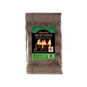 Homefire Heat Logs pack of 12